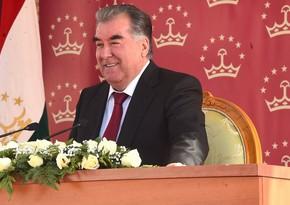 Emomali Rahmon yenidən rəsmən Tacikistan prezidenti seçilib