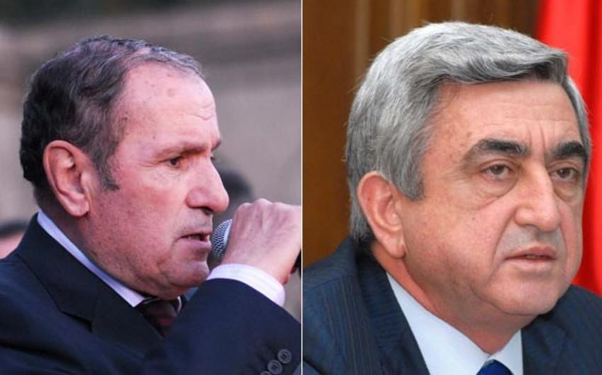 KİV: Sarkisyan nəyin bahasına olursa-olsun Ter-Petrosyanın blokunun parlamentə keçirilməsinə göstəriş verib