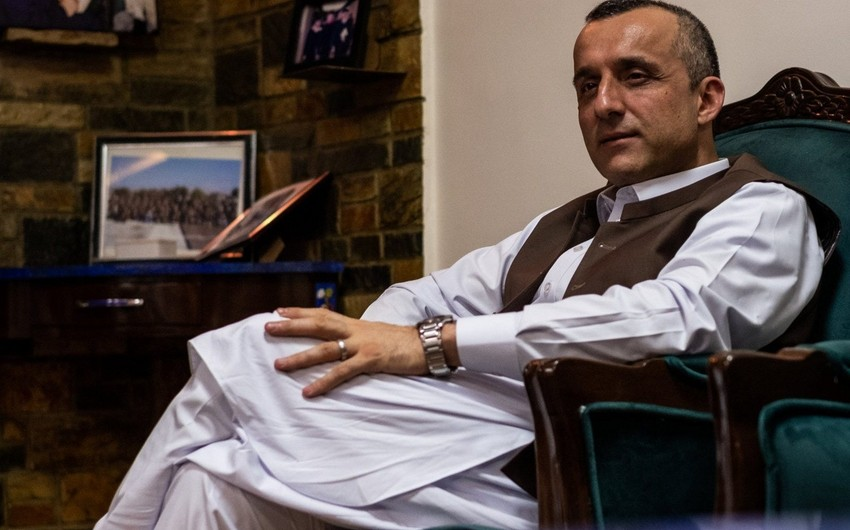 """Əmirulla Saleh: """"Taliban"""" Pəncşirə gələn humanitar yardımları əngəlləyib"""""""