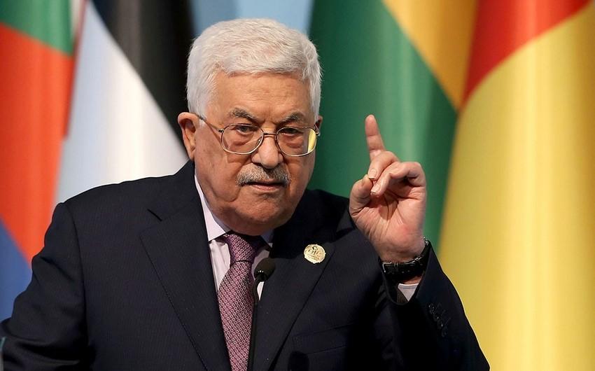 Fələstin İsrail və ABŞ-la imzaladığı bütün sazişlərdən çıxdı