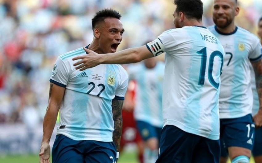 Argentina Amerika Kubokunun yarımfinalına çıxıb - VİDEO
