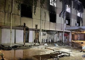 Число жертв пожара в Багдаде возросло до 90 человек - ОБНОВЛЕНО-2