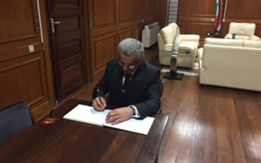 Azərbaycan səfiri Surinam Milli Assambleyasının sədri ilə görüşüb