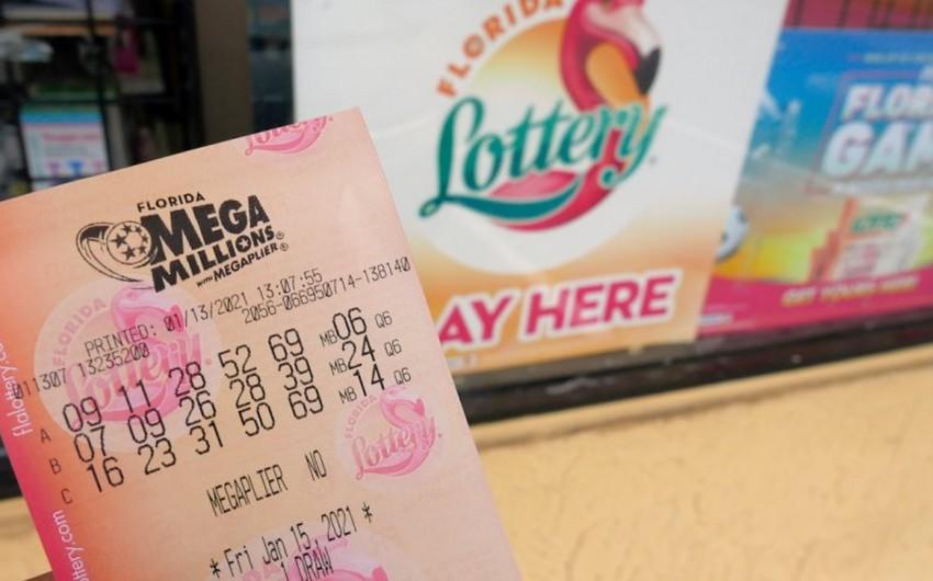 ABŞ-da dörd nəfər lotereyada 1,05 milyard dollar uddu