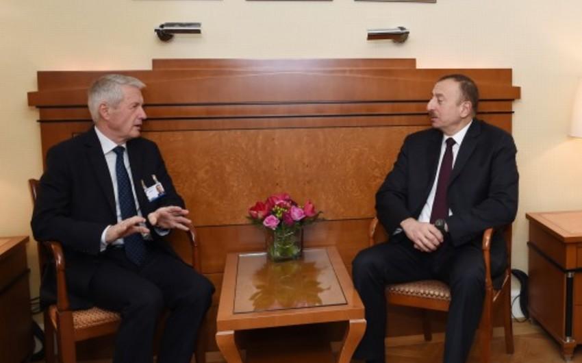 Azərbaycan prezidenti Avropa Şurasının baş katibi ilə görüşüb