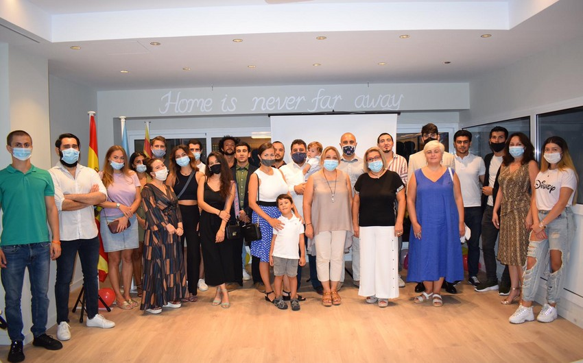 İspaniyada Azərbaycan Evinin açılışı oldu