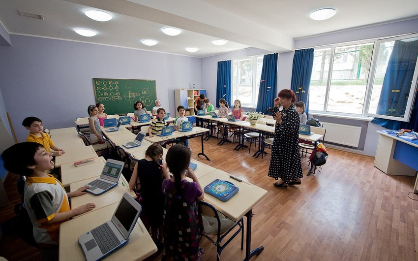Gürcüstanın azərbaycandilli məktəbində ruhun olduğu iddia edilir