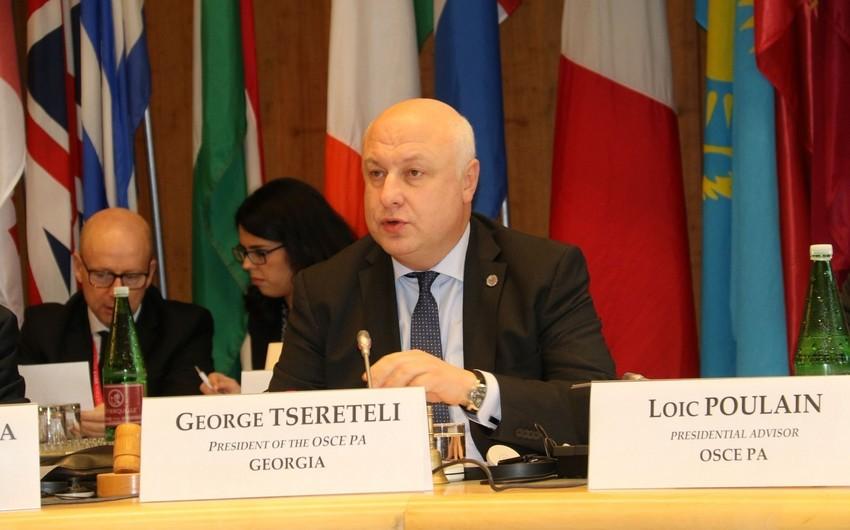 ATƏT PA-nın sədri: Azərbaycanın regionda vacib ölkəyə çevrilməsinə parlament də öz töhfəsini verib