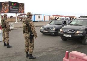 Дорожная полиция: Некоторые на выходных не будут допущены в регионы