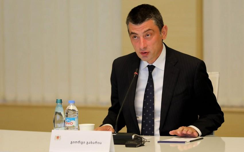 """Baş nazir: """"Gürcüstanda parlament seçkilərinin tarixi dəyişdirilməyəcək"""""""