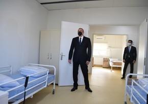 В Гобустане состоялось открытие больницы модульного типа для лечения больных COVID-19