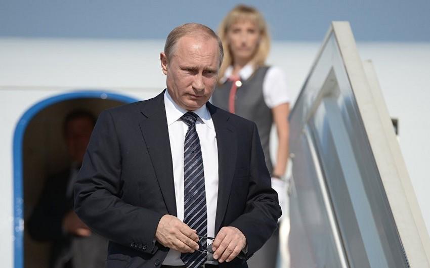 Rusiya prezidenti Ankaraya gedib