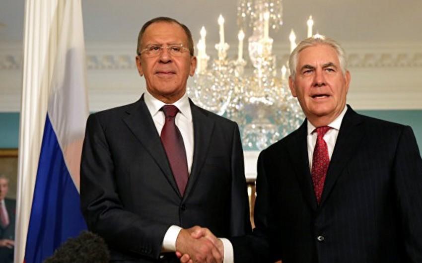 ABŞ-ın dövlət katibi rusiyalı həmkarı ilə görüşəcək