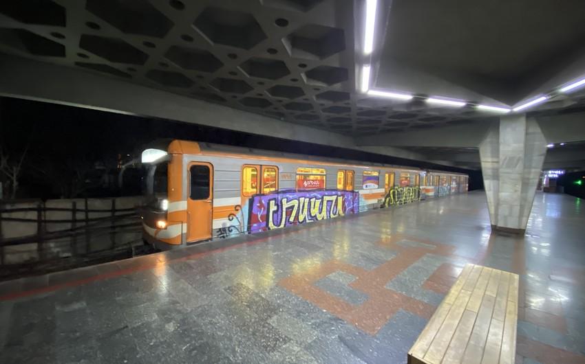 Yerevan metropoliteni işini bərpa edib