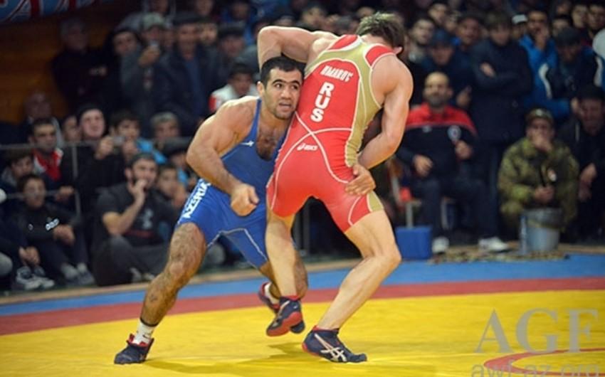 Azərbaycan güləşçiləri olimpiya mükafatçısının turnirində 3 medal qazanıb
