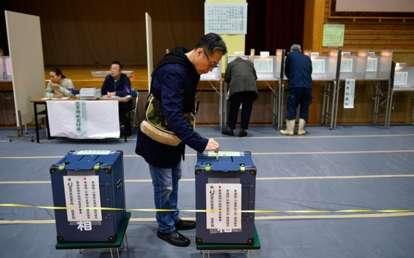 Over 13% of voters cast their votes in Japan parliamentary elections ahead of time