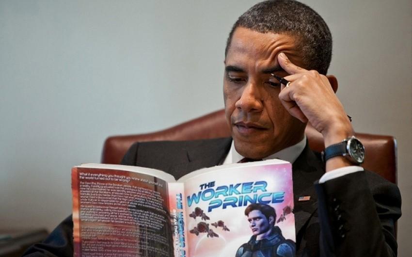 Obama bu ilin ən çox sevdiyi mahnı, serial, kitab və filminin adını açıqlayıb