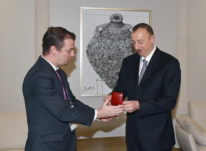 Президенту Азербайджана вручена высшая паралимпийская награда - ФОТО