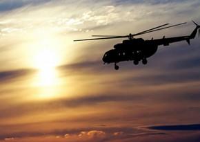 Крушение вертолета в США, есть погибшие