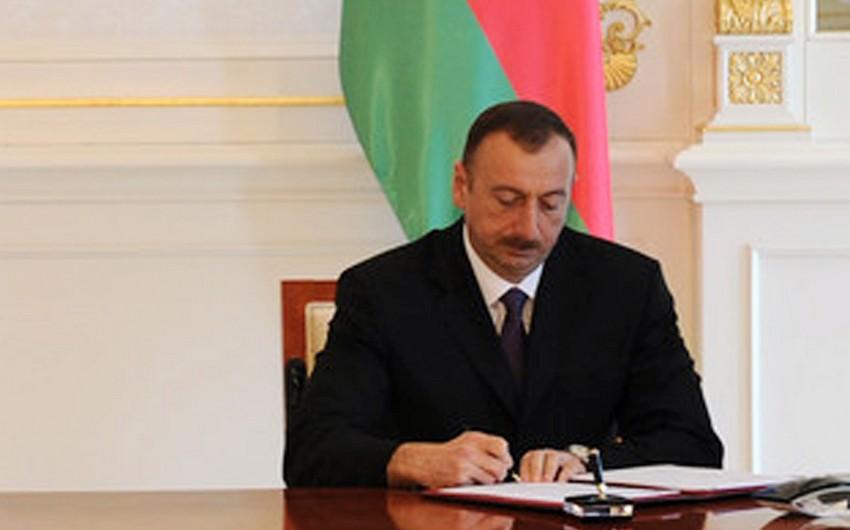 Президент Азербайджана подписал распоряжение о дополнительных мерах по строительству автомобильной дороги в Товузском районе