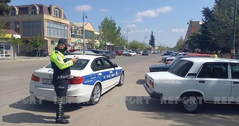 Biləsuvarda yol polisi reyd keçirib