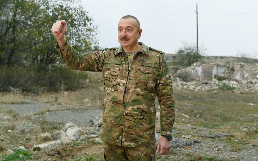 İlham Əliyev: Bütün hərbi cinayətlərə görə düşmən cavab verəcək