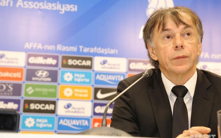 Nikola Yurçeviç: Azərbaycanla matçda Xorvatiyanın favorit olması hər kəsə aydındır