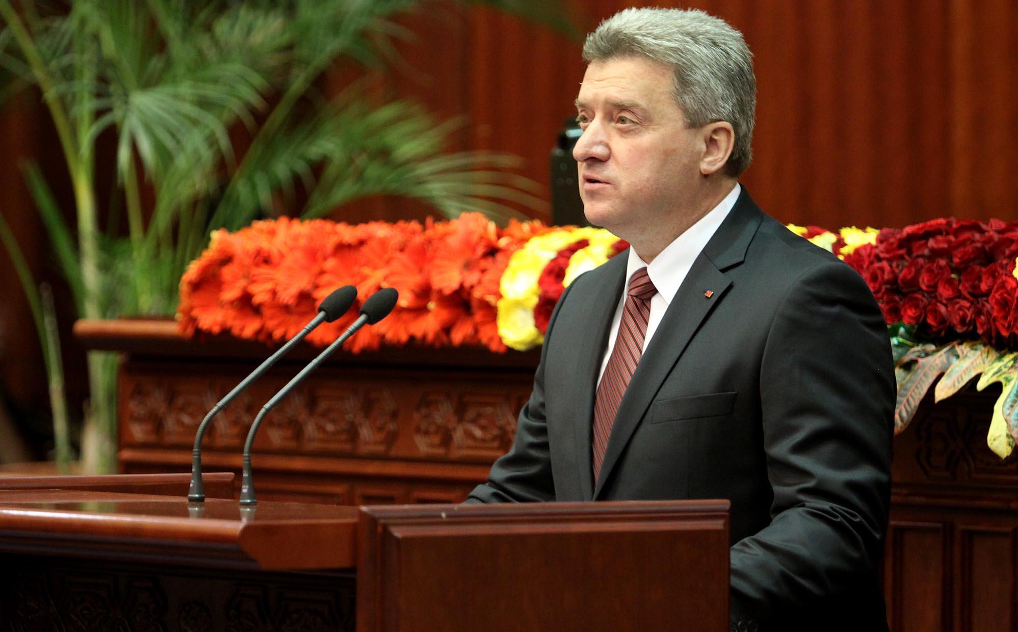 Президент Македонии посетит Азербайджан