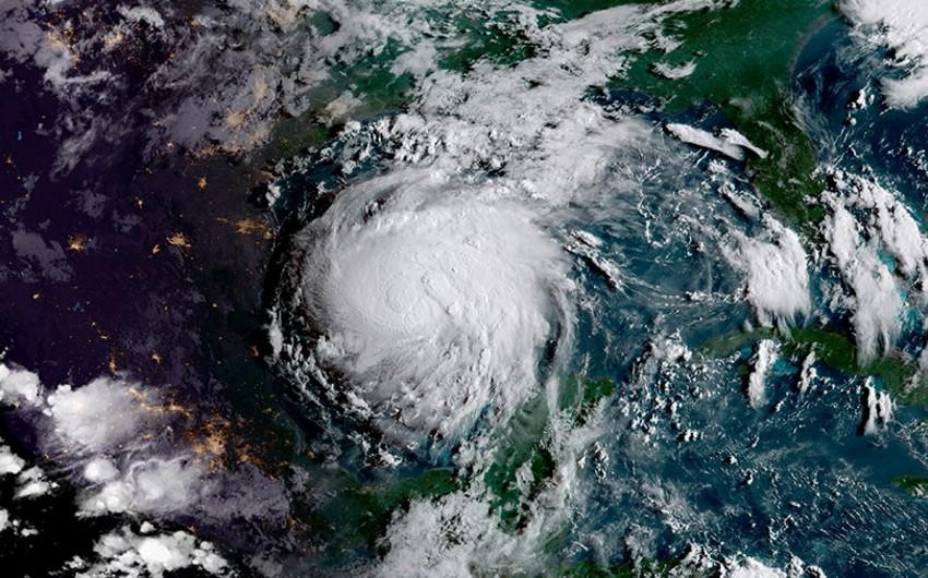 Harvi qasırğası Missisipi və Tennessi istiqamətində hərəkət edir