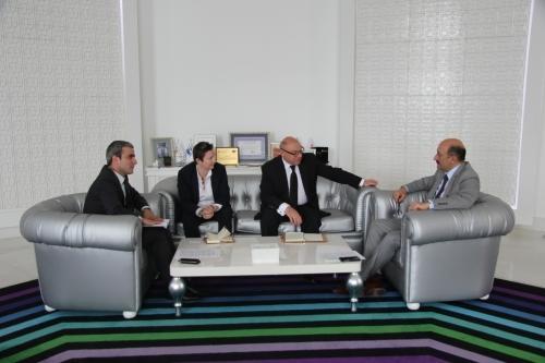 Abulfas Garayev  receives  Ambassador of Poland