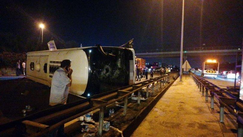 В Турции пассажирский автобус попал в ДТП, есть погибшие и раненые