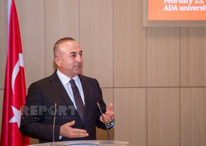 Çavuşoğlu: We stand by Azerbaijan with all our strength