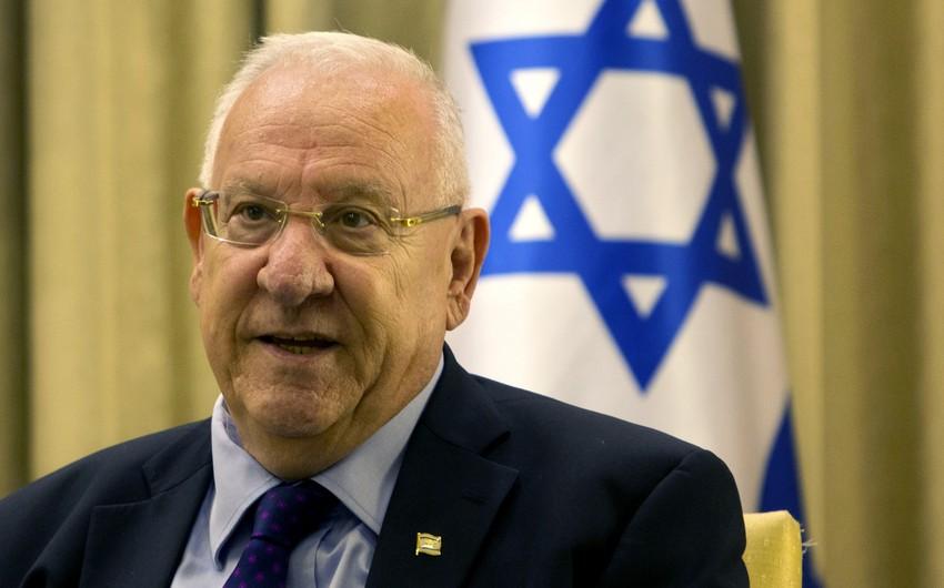 İsrail Prezidenti Azərbaycanın dövlət başçısına məktub göndərib