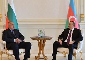 Bolqarıstanın Baş naziri Azərbaycan Prezidentini ölkəsinə səfərə dəvət etdi