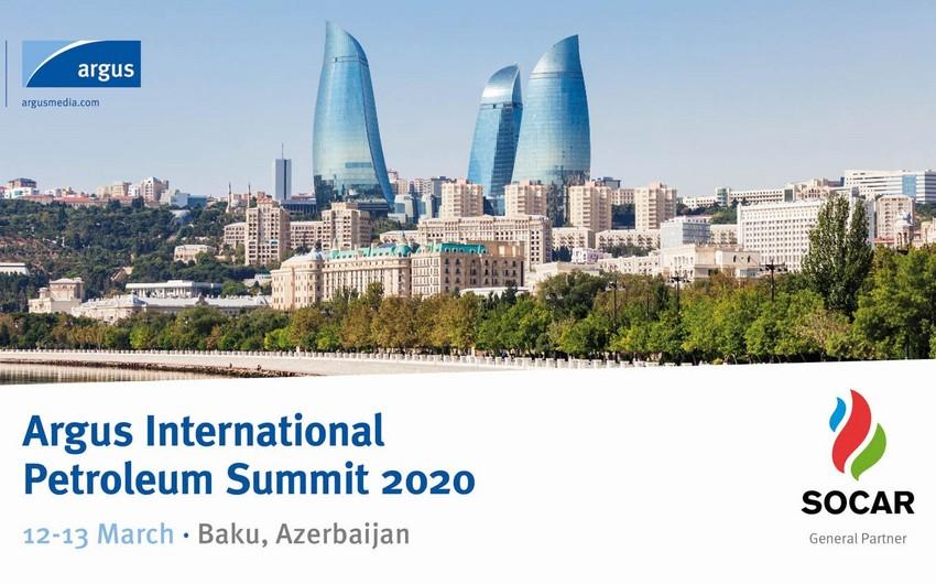 В Баку состоится Международный нефтяной саммит Argus
