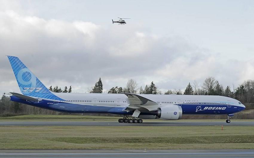 """""""Boeing 777X"""" birinci sınaq uçuşunu başa çatdırıb"""