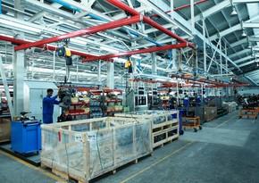 Azərbaycanda sənaye istehsalı 4% azalıb