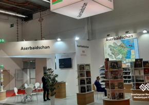 Азербайджан представлен на международной книжной ярмарке в Германии