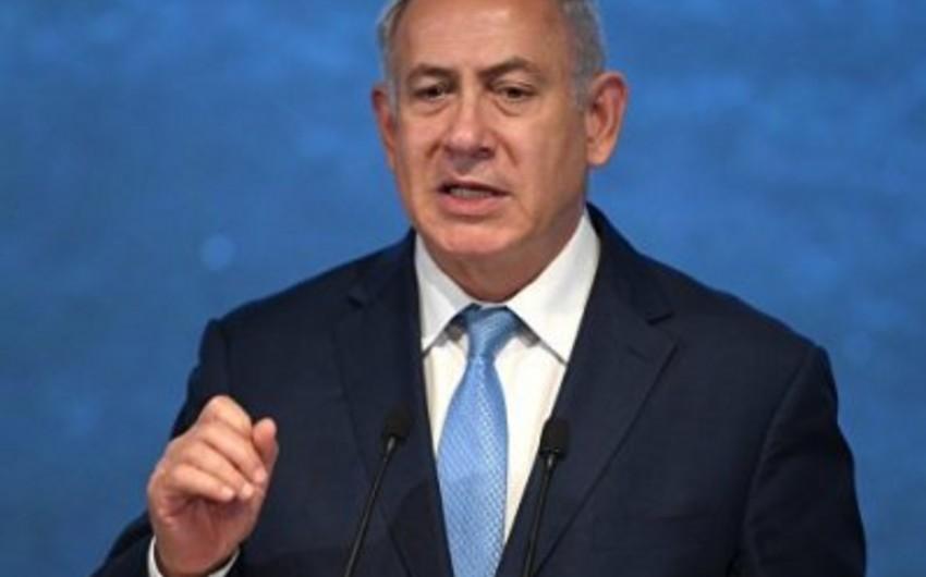 Netanyahu İordaniya vadisini zəbt edəcəyini söz verib