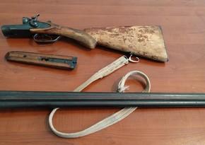 Saatlı sakinində odlu silah aşkarlandı