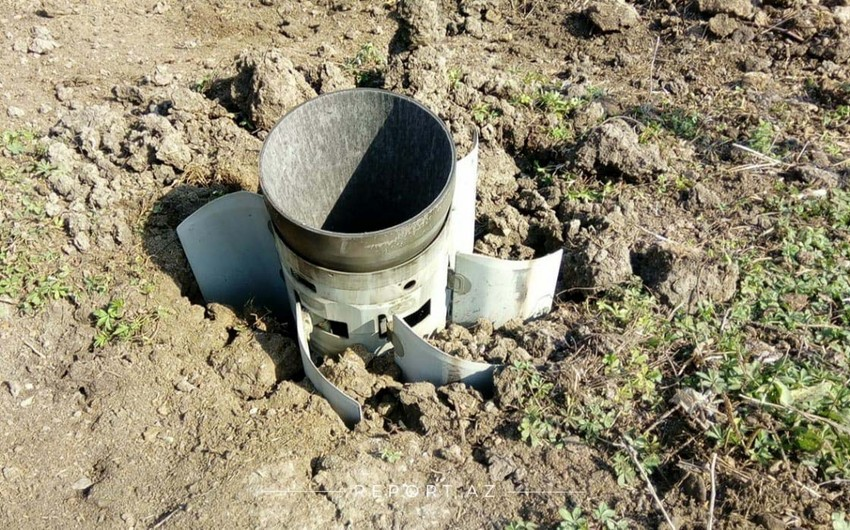 Another Smerch fired by enemy landed in Duyerli village of Tartar