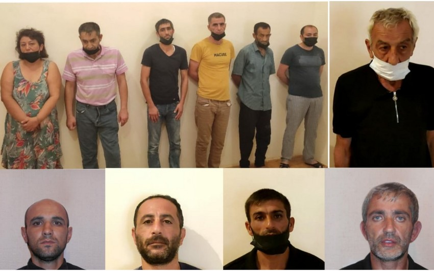 """Lənkəranda """"patı"""" əməliyyatında biri qadın olmaqla 11 nəfər saxlanılıb"""
