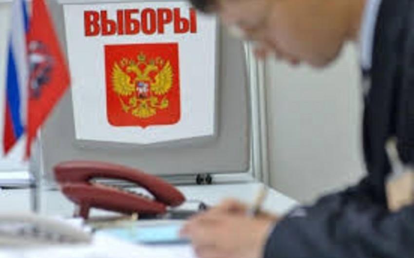 Rusiya MSK-sı Dumada deputat yeri qazanan partiyaların adlarını açıqlayıb
