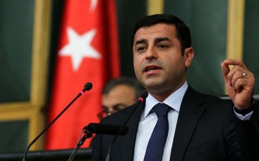 HDP həmsədri barəsində ittiham aktı açıqlanıb