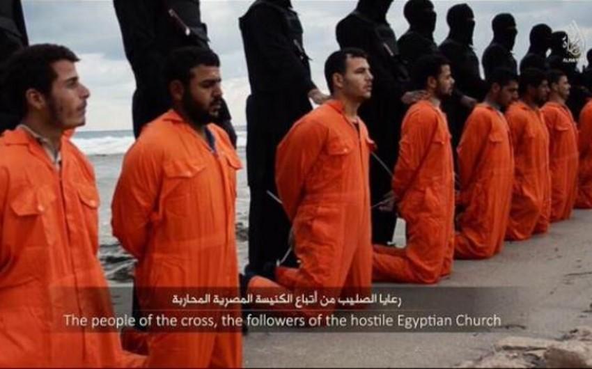 İŞİD terrorçuları Liviyada 21 xristianı edam edib