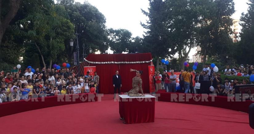 Bakı Dövlət Sirkinin ilk proqramının 75 illlik yubileyi keçirilir