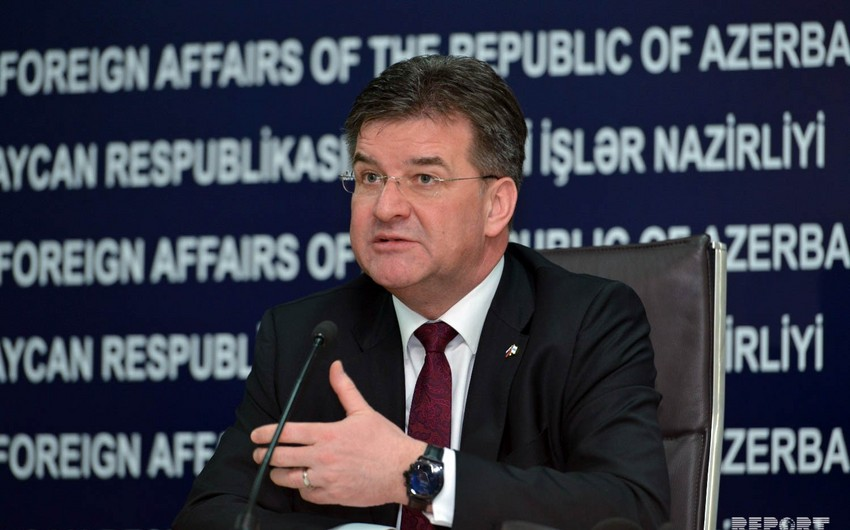 Lajcak: OSCE MG is the only recognized format in Karabakh settlement