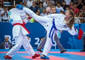 Минск 2019: Азербайджанская каратистка вышла в полуфинал