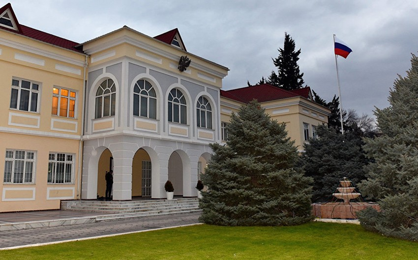 Consular section of Russian Embassy to Azerbaijan stopped receiving visitors
