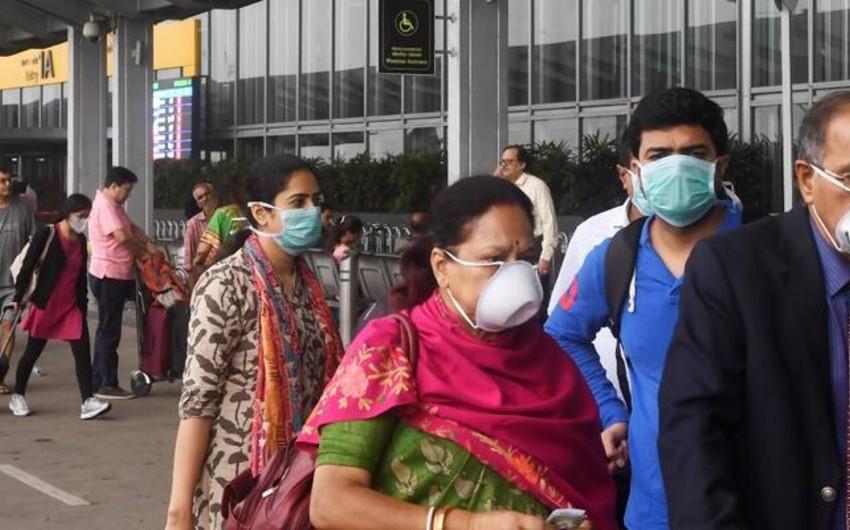 Hindistanda koronavirusa yoluxanların sayı 3 000-ə çatır